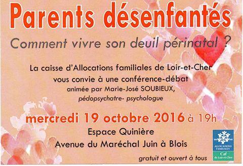 Affiche Conférence Débat 19 Octobre 2016